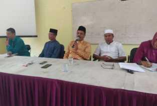 Plt Kadisdik Gelar Pertemuan dengan Guru Kristen SD dan SMP di Duri