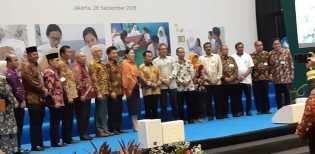 Wakili Bupati, Kadisdik Bengkalis Hadiri Peluncuran Program Pintar di Jakarta